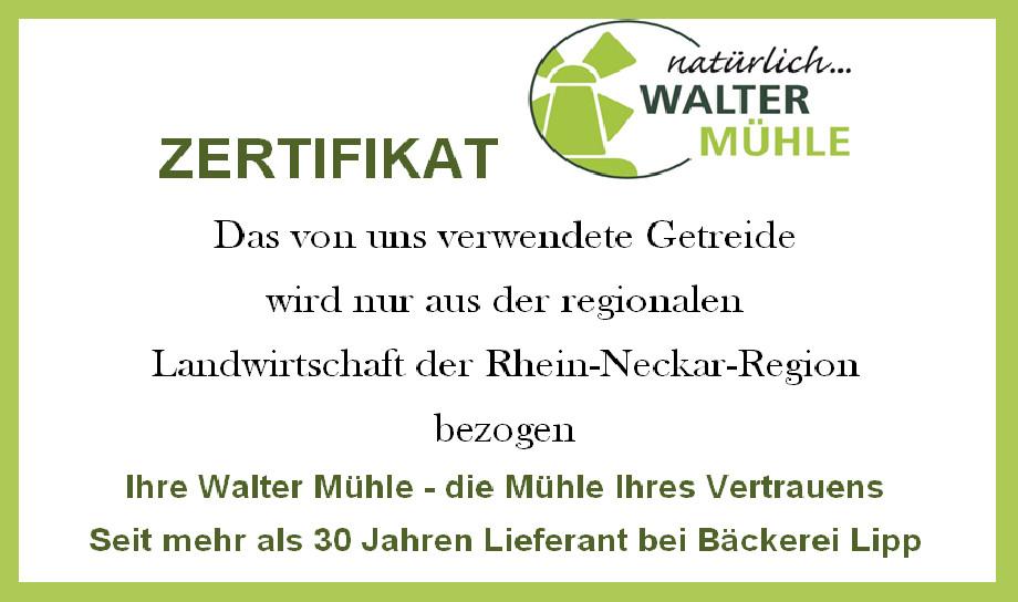 zertifikat waltermühle